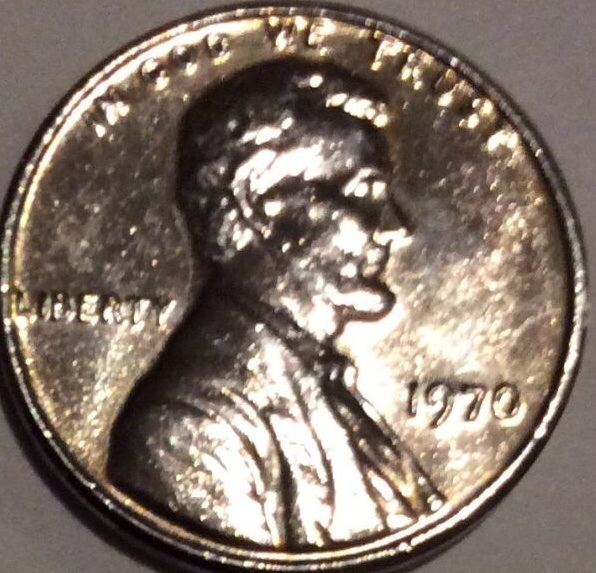 Lincoln penny silver? Proof mybe please Help 1970 - Coin