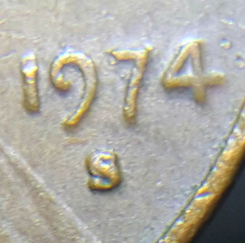 1974 S/S penny it looks weird - Coin Community Forum