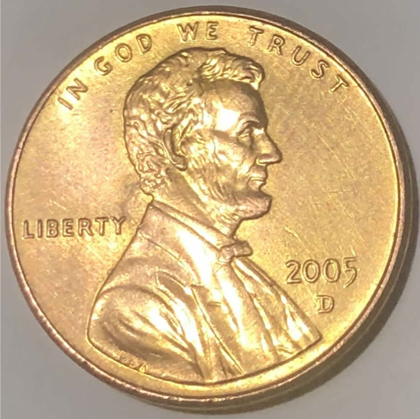 2005 d penny  Rare? Satin Finish? - Coin Community Forum