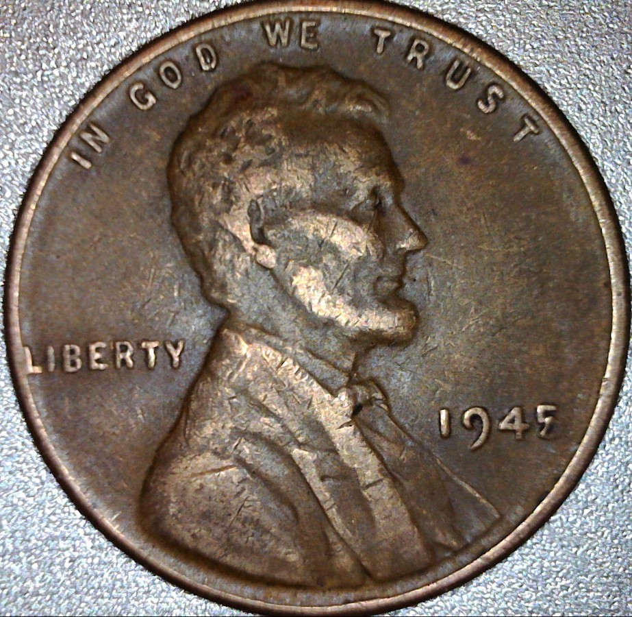 1945 Wheat Penny date error - Coin Community Forum