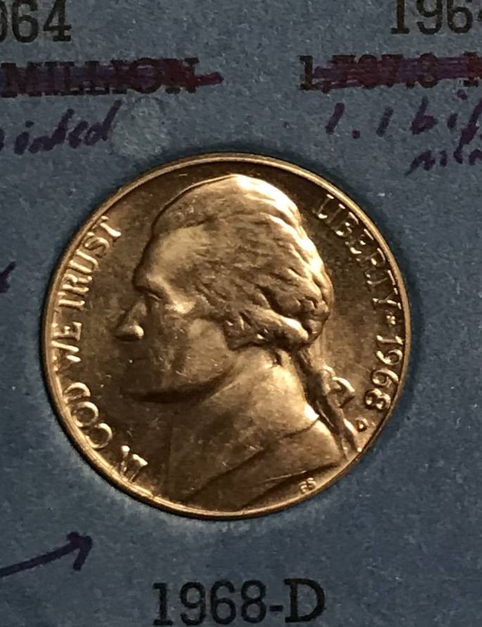 Any thoughts on this nickel? I found this beauty in my