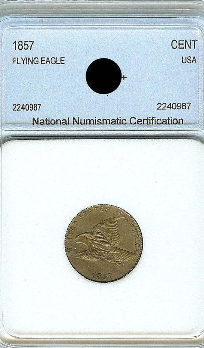 What Do You Think About This Nnc Graded 1857 Flying Eagle Cent