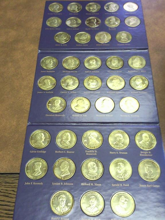 Reader S Digest A Coin History Of The U S Presidents