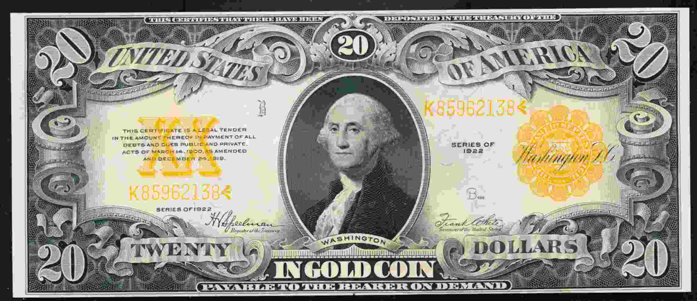 Grading options for sequential 1922 gold certificates coin report xflitez Choice Image