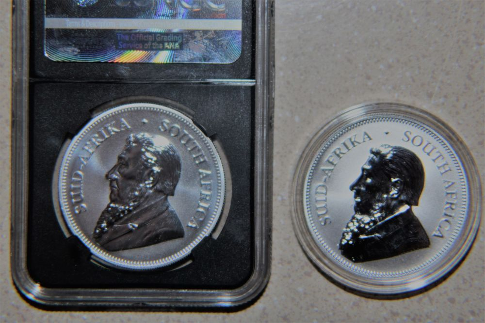 Silver Krugerrands, wanted to share!! - Coin Community Forum