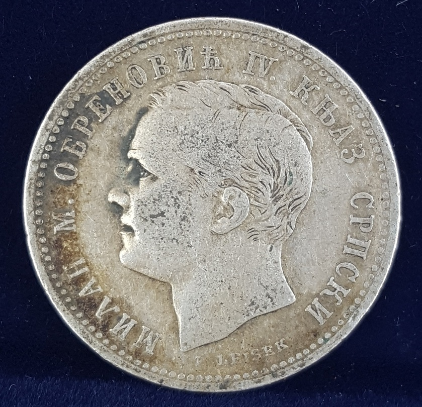Serbia 1875 silver dinar any errors coin community forum report m4hsunfo