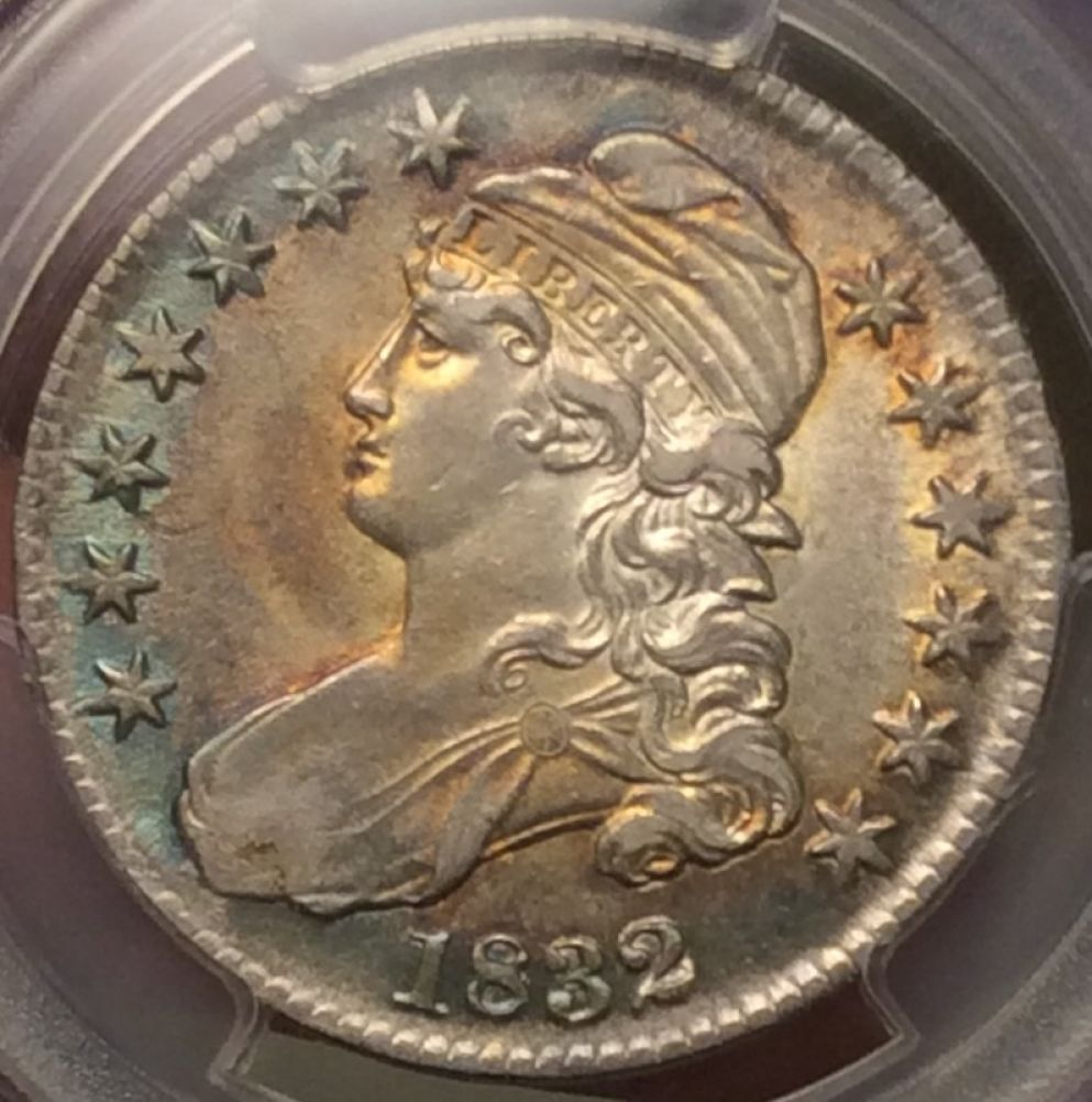 1832 Capped Bust Half Dollar You Vs Pcgs Grade Added 1