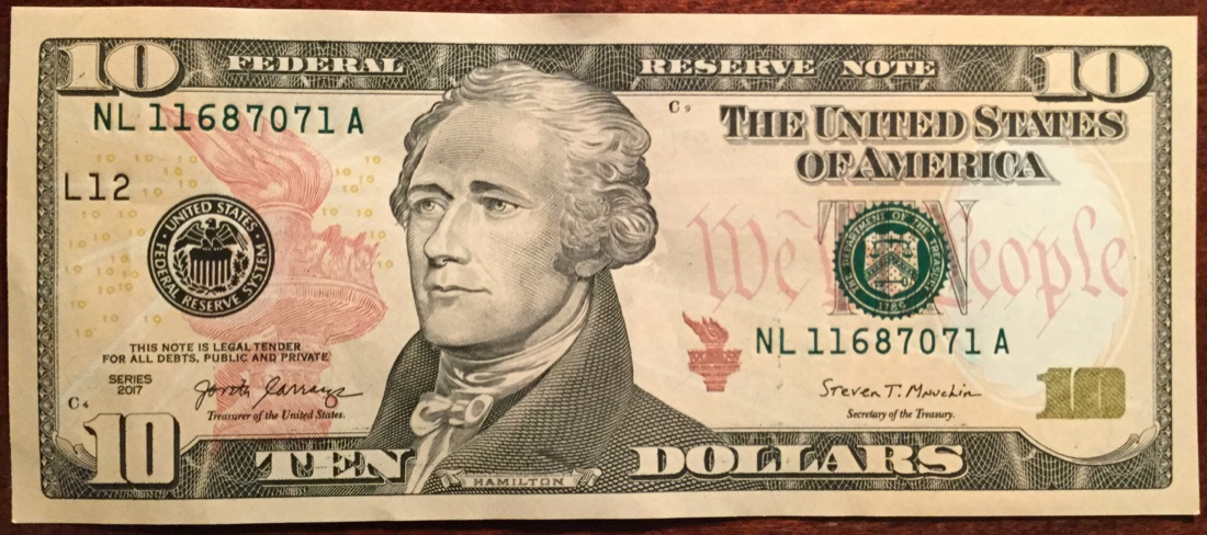"My 1 St 2017 ""munchkin"" Ten Dollar Bill ! - Coin Community Forum"