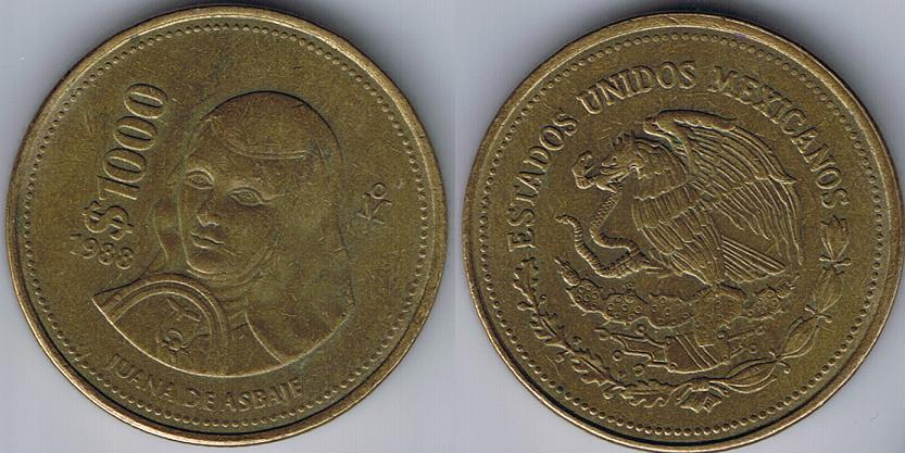 1988 1000 Mexican Coin http://www.coincommunity.com/forum/auction_item.asp?intAuctionID=4650