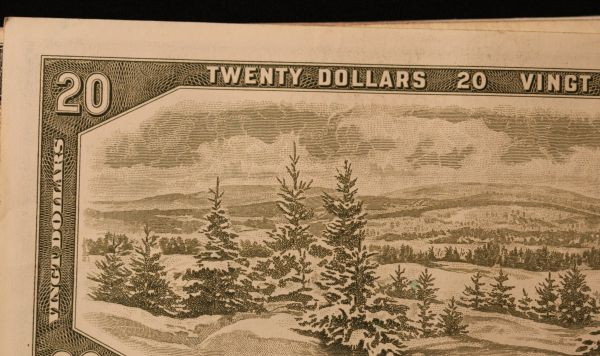 1954 Canadian 10 Dollar Bill http://www.pic2fly.com/1954-Canadian-20 ...
