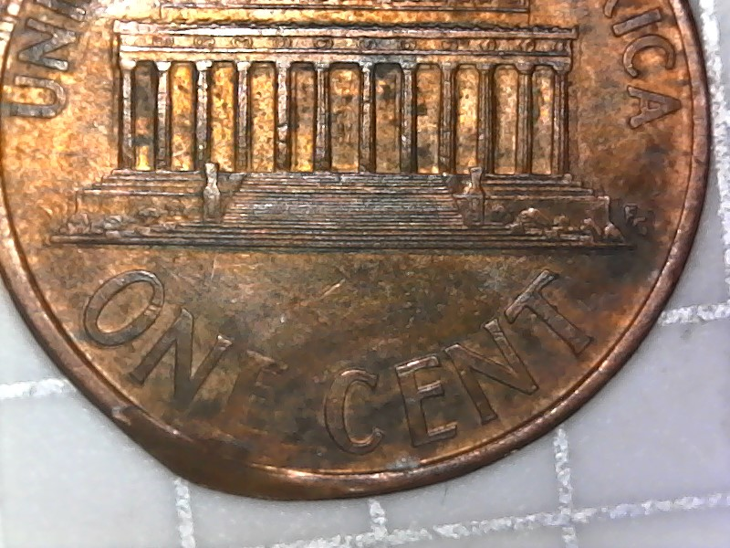 1993 D Lincoln Cent Possible Error On Edge Of Coin Take A ...