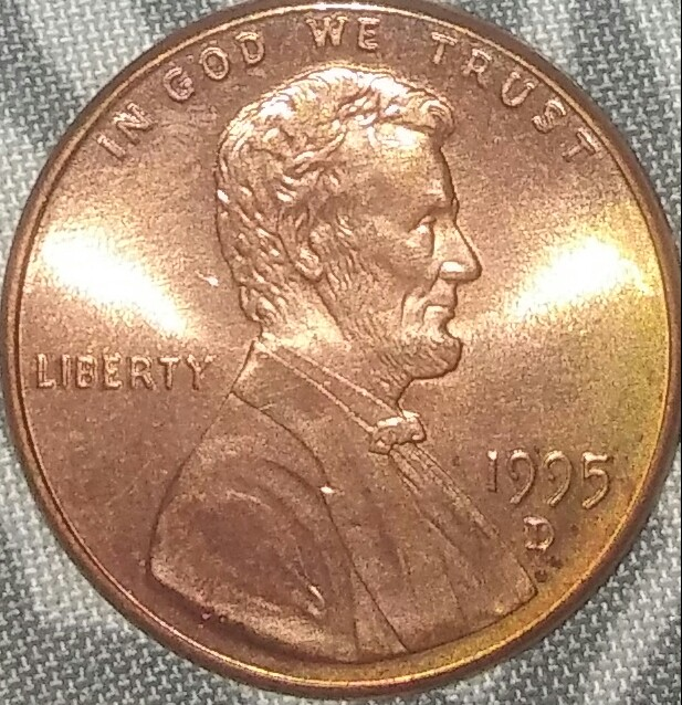 1995 D Penny Is This Double Die Coin Community Forum