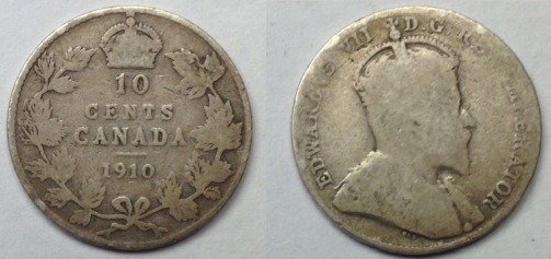 Canada 10 Cents 1910 1918 1919 Grading Coin Community Forum