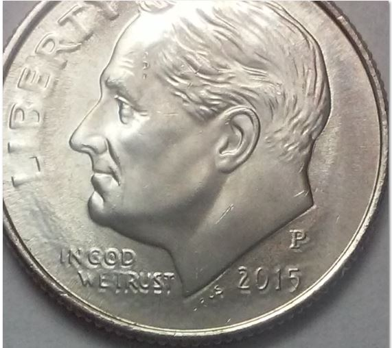 Double Die 2015 Dime Help Please Coin Community Forum