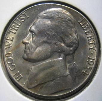 Grade for this 1954 S/D Jefferson Nickel? - Coin Community Forum