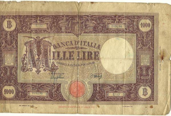 Banca Ditalia 1000 Mille Lire Coin Community Forum