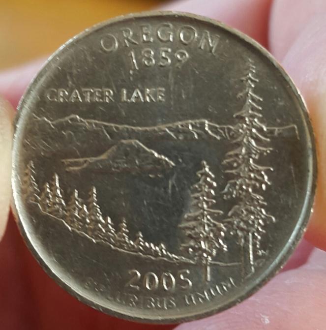 2005 P Oregon Quarter No Reeding - Coin Community Forum