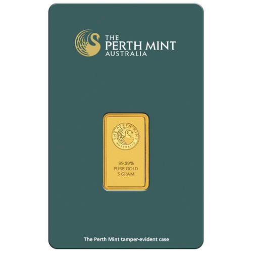 5 Gram Perth Mint Gold Bar And 2011 1 Kilo Silver Rabbit