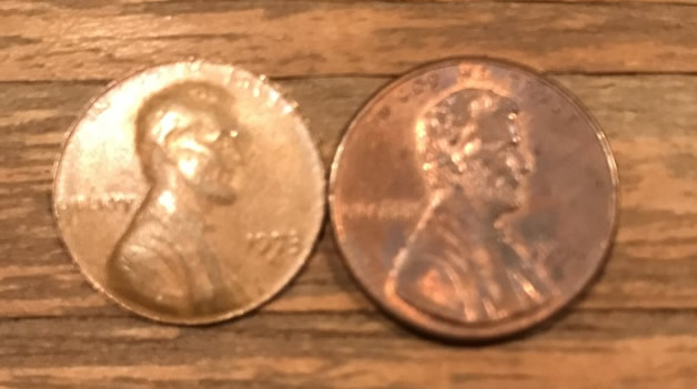 1973 D Lincoln Cent - Counterfeit (Fake) or something