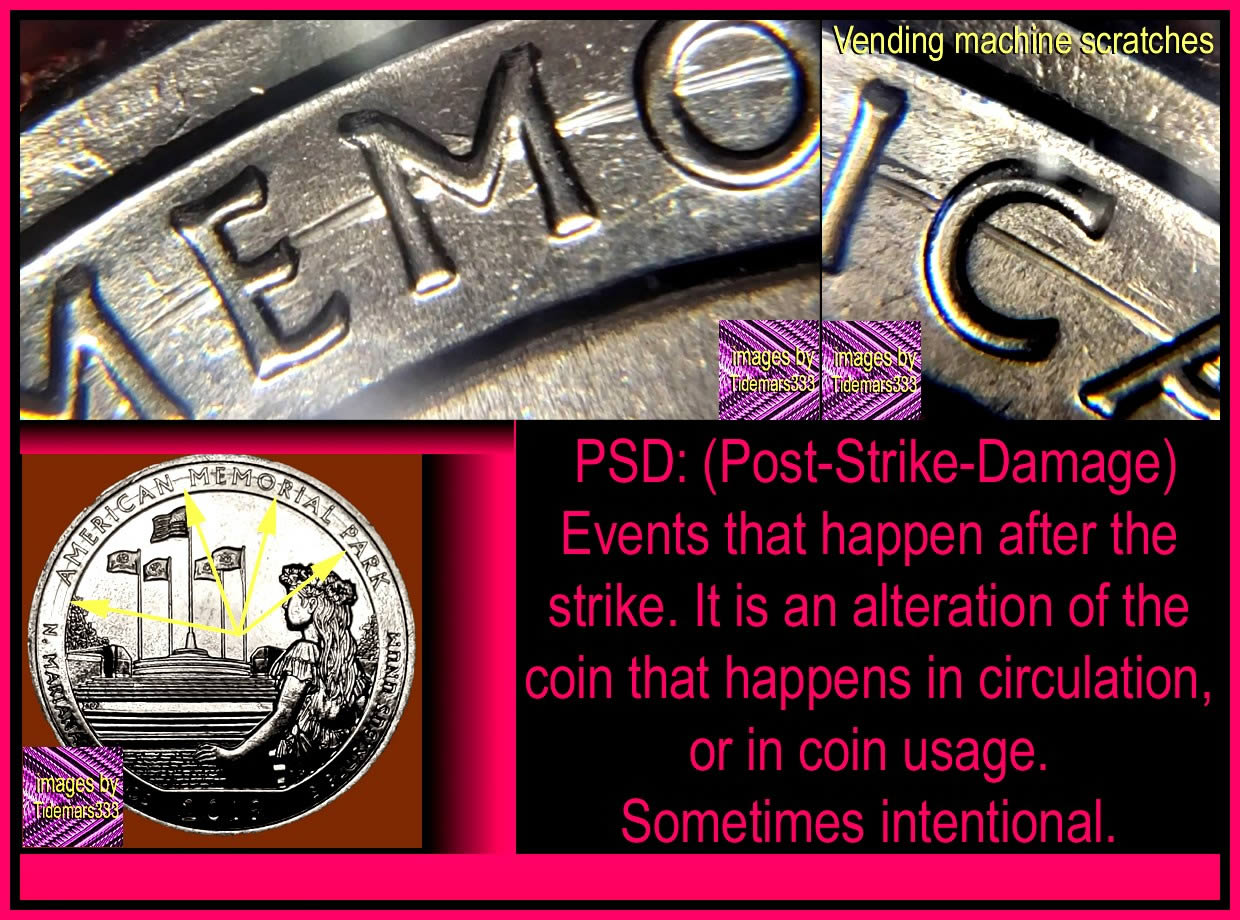 Post-Strike Damage: A plague for coins - Coin Community Forum