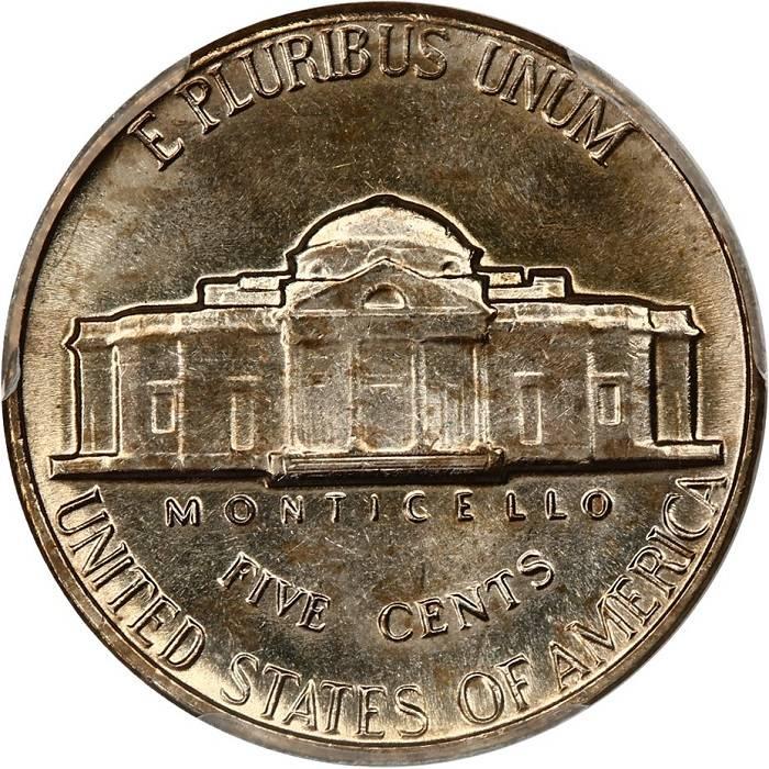 1965 FS Jefferson Nickel  Very high auction price  Full