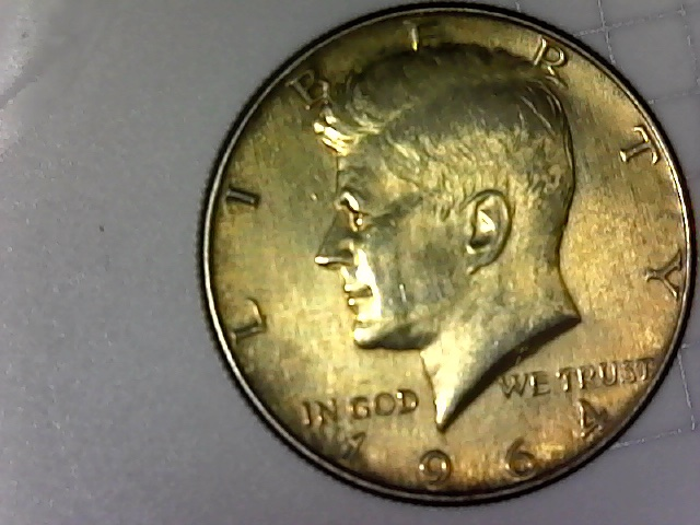 1964 Kennedy half dollars gold toned! - Coin Community Forum