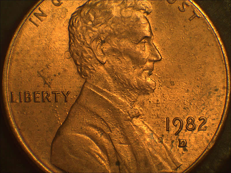 1982-D cent Weight's 2 5g ! what is that mean? - Coin