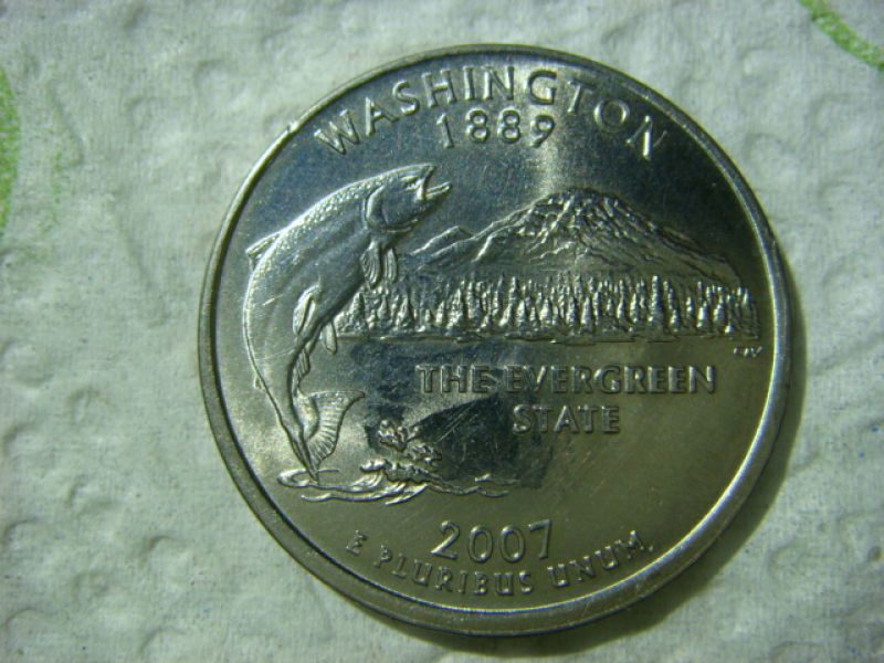 Washington State Quarter Smooth Edge Coin Community Forum