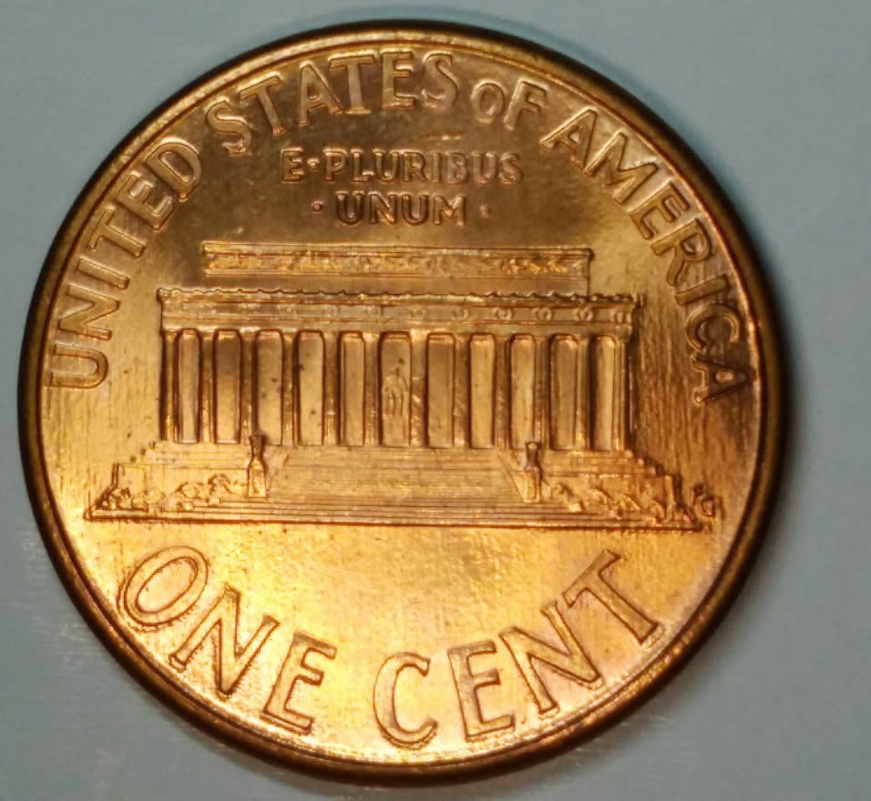 1994 Double Die Lincoln Memorial Rarest Variety Cent - Coin