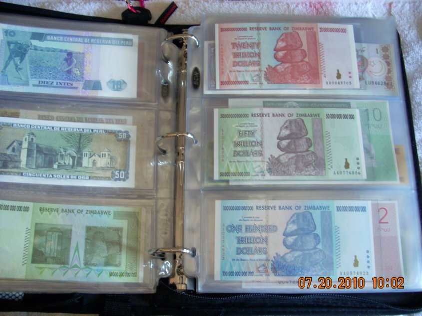 How Do You Store Organize A World Banknote Collection