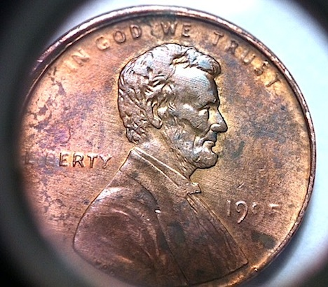 1995 penny collar or rim error coin community forum error i believe i figured the weakness is too spread out to be struck through grease plus the minor halo is concurrent with much of the weakness publicscrutiny Images