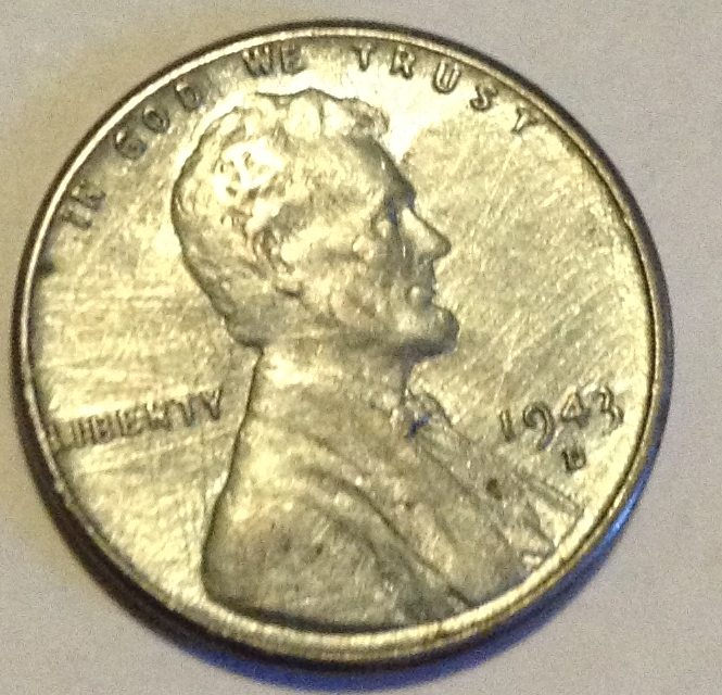 Copper Visible In This 1943 D Steel Cent Coin Community Forum