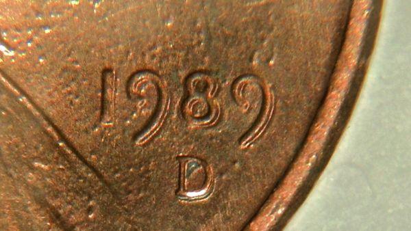 1989 D Double Die? - Coin Community Forum