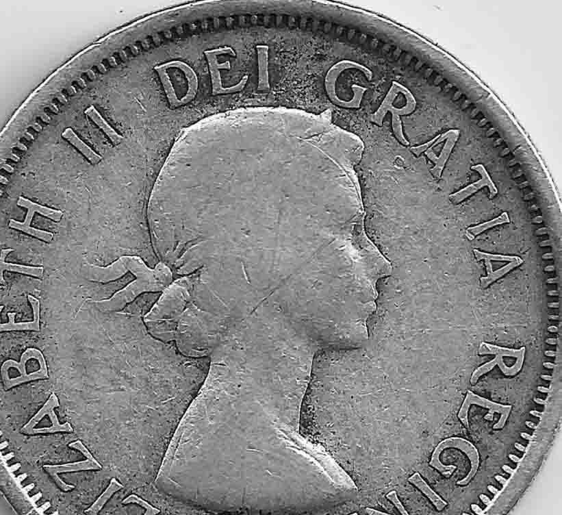 1955 Canadian Quarter Sf Or Nsf Coin Community Forum