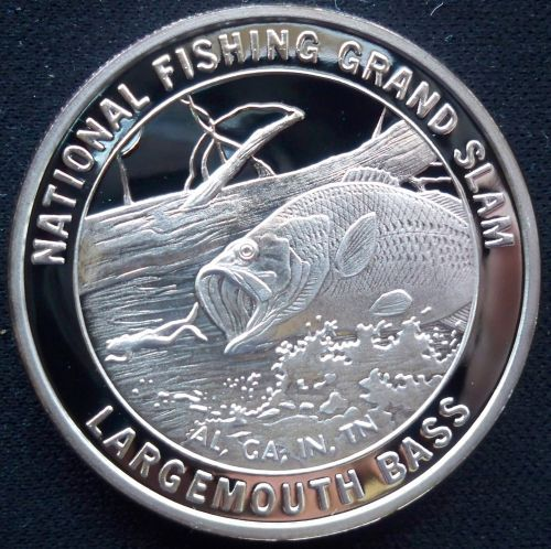 1 Troy Oz 999 Fine Silver North American Fishing Club