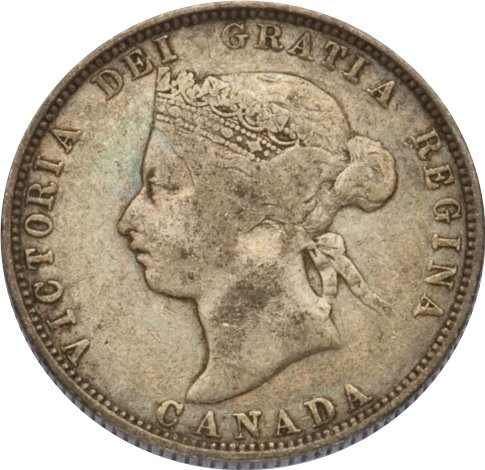 1875h 25 Cent Coin Real Or From China Coin