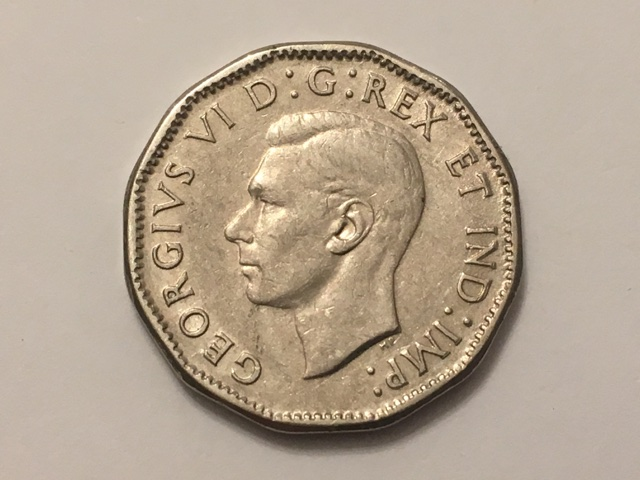 1947 Dot 5 cents - VF 30 at best? - Coin Community Forum