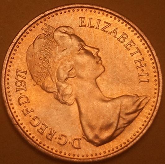 2 pence 1971 цена 175 суток в космосе марка цена