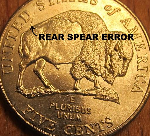 2005 Jefferson Nickel - Speared buffalo? - Coin Community Forum