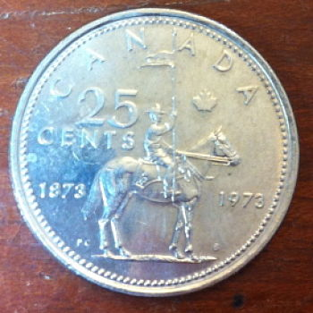 1973 Canadian Quarter Large Bust Or Small Bust Coin