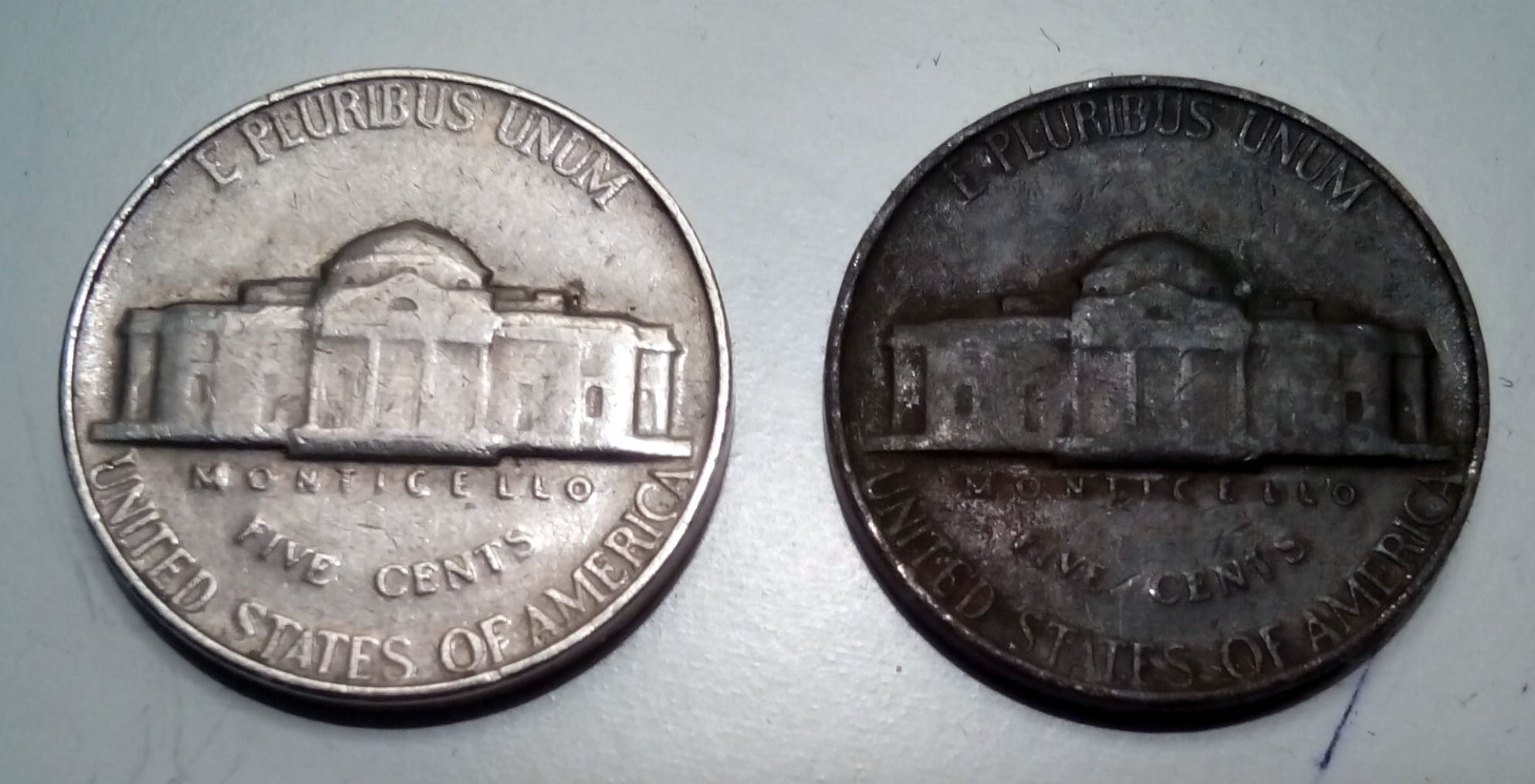 1964 Black Nickel - possible causes? - Coin Community Forum