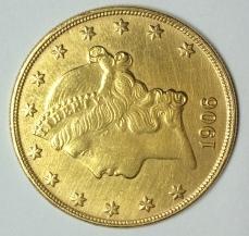 1906 20 Dollar Gold Coin Value