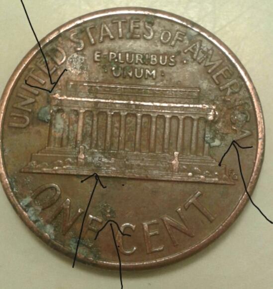 1991 d penny error? - Coin Community Forum