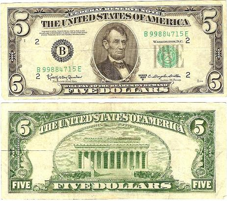 Series 1950 $5 Counterfeit (Fake)? - Coin Community Forum