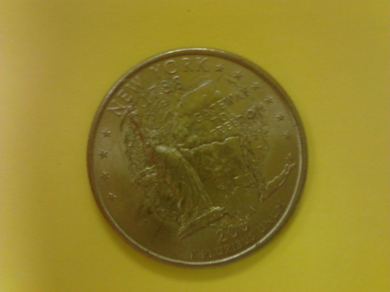 2001 New York State Quarter Mint Error Coin Community Forum