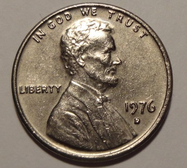 1976 D Silver Colored Lincoln Cent Coin Community Forum