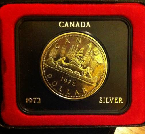 1972 Canadian Silver Dollar Coin Community Forum