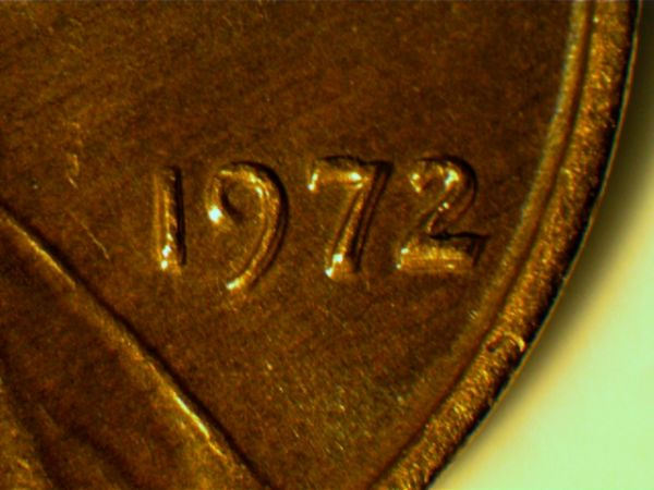 1972 I think a nice penny Doubled Die Obverse / DDO , could be wrong