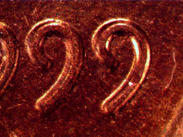 1999 penny, Doubled Die Obverse / DDO , md or normal - Coin