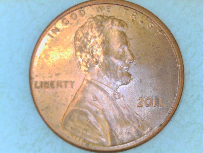 2011 Penny Doubled Die Wdoubled Die Obverse Ddo 002